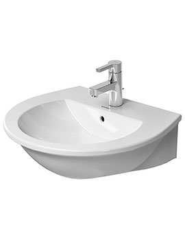 Duravit Darling New 550mm Wide 1 Taphole Washbasin With Overflow