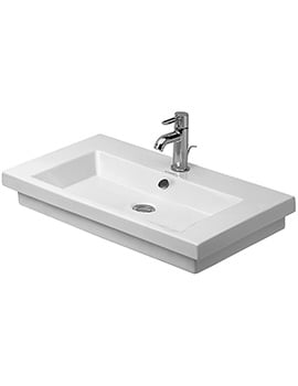 Duravit 2nd Floor 700 x 460mm Ground Washbasin