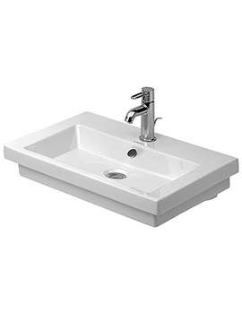 Duravit 2nd Floor 600 x 430mm Ground Washbasin