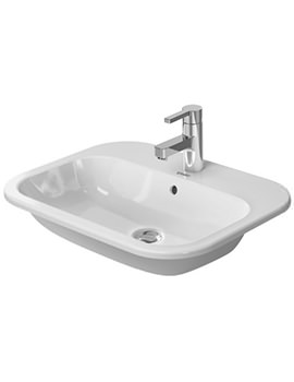 Duravit Happy D2 Counter Top Vanity Basin 600 x 460mm