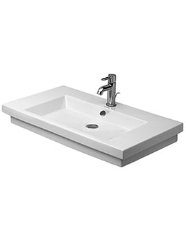 Duravit 2nd Floor 800 x 500mm Ground Washbasin
