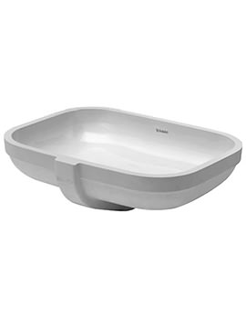 Duravit Happy D2 Undercounter Vanity Basin 480 x 345mm