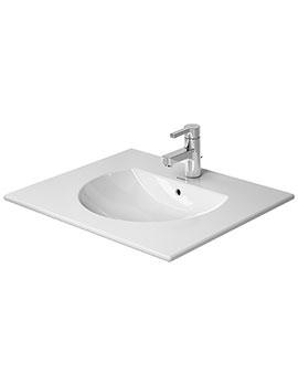 Duravit Darling New 630 x 520mm 1 Taphole Furniture Washbasin