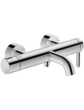 Duravit C.1 Exposed Wall Mounted Manual Bath Shower Mixer Tap