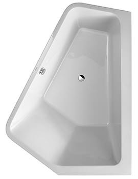 Duravit Paiova 1900 x 1400mm 5 Corner Right Built In Bath