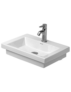 Duravit 2nd Floor 500 x 400mm Handrinse Basin