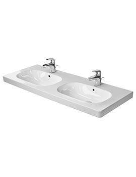 Duravit D-Code 1200mm Double Washbasin