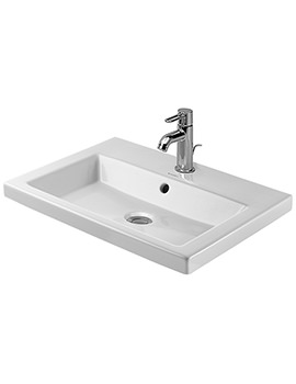 Duravit 2nd Floor 600 x 430mm Countertop Vanity Basin