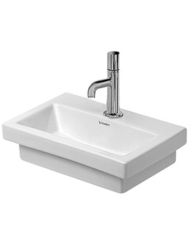Duravit 2nd Floor 400 x 300mm Ground Handrinse Basin
