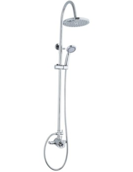 Mayfair Amazon Exposed Thermostatic Shower Valve And Riser Kit