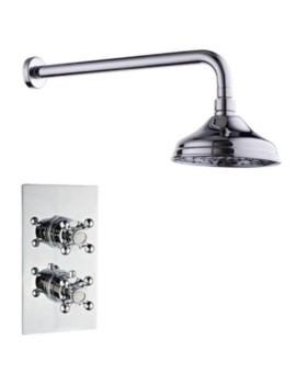 Mayfair Oxford Concealed Thermostatic Shower Valve With Shower Head And Arm