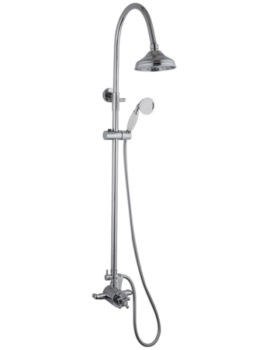 Mayfair Oxford Exposed Thermostatic Shower Valve And Riser Kit