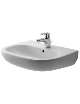 Duravit D-Code 550mm Washbasin With Overflow