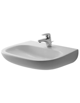 Duravit D-Code 600mm Washbasin Med Without Overflow