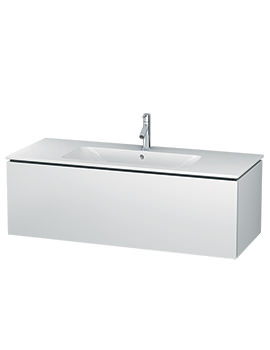 Duravit L-Cube 1220mm Wall Mounted Vanity Unit With Me By Starck Basin