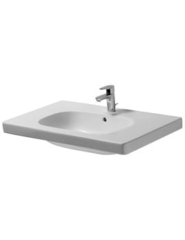 Duravit D-Code 850mm Washbasin With Overflow