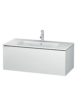 Duravit L-Cube 1020mm Wall Mounted Vanity Unit With Me By Starck Basin