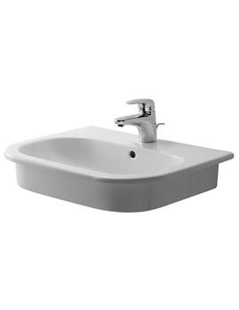 Duravit D-Code 545mm Countertop Vanity Basin