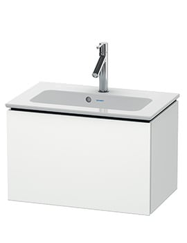 Duravit L-Cube 620mm Compact Vanity Unit With Me By Starck Basin