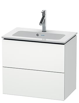 Duravit L-Cube 620mm Compact 2 Drawers Vanity Unit With Me By Starck Basin