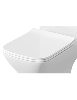 Lauren Carmela Soft Close Sandwich Style WC Toilet Seat And Cover