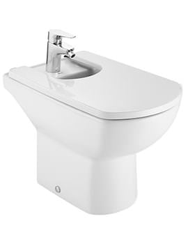 Roca Aire Back To Wall Bidet With 1 Tap Hole