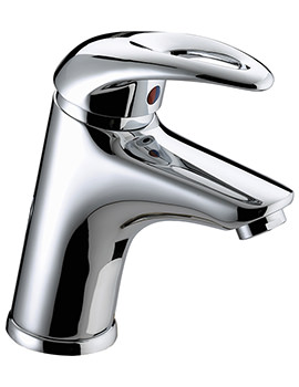 Bristan Java Basin Mixer Tap With Clicker Waste