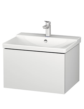 Duravit L-Cube 620 x 481mm 1 Drawer Wall Mounted Vanity Unit