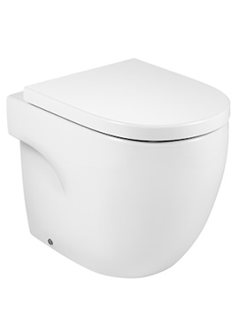 Roca Meridian-N Comfort Height Back-To-Wall Toilet - Dual Outlet