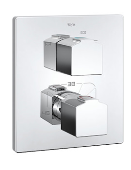 Roca L90 Built-In Thermostatic Bath Or Shower Mixer Valve