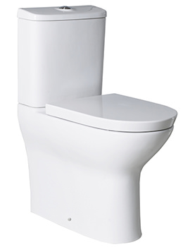 Roca Colina Comfort Height Back-To-Wall Close Coupled Toilet