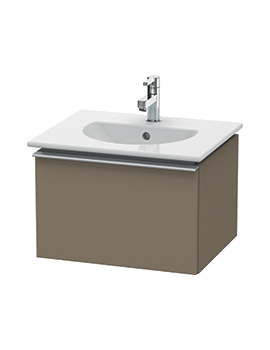 Duravit Darling New 500 x 430mm Terra Wall Mounted Vanity Unit With Basin