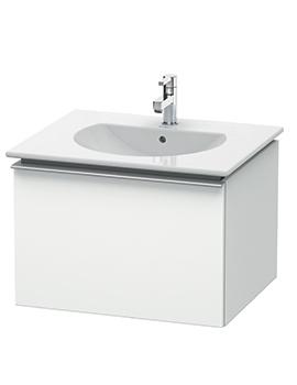 Duravit Darling New 545 x 600mm White Matt Vanity Unit With Basin