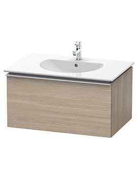 Duravit Darling New 800 x 545mm Pine Silver Vanity Unit With Basin