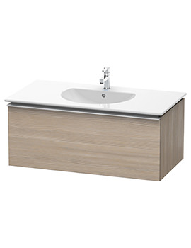 Duravit Darling New 1000 x 545mm Pine Silver Vanity Unit With Basin