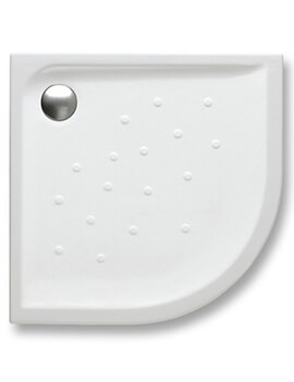 Roca Malta 1100 x 1100 x 65mm Quadrant Shower Tray With Anti-slip Base