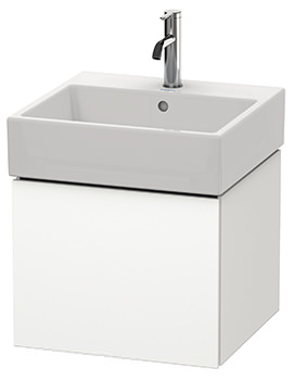 Duravit L-Cube 484mm Single Drawer Vanity Unit With Vero Air Basin
