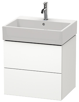 Duravit L-Cube 584mm 2 Drawer Vanity Unit With Vero Air Basin