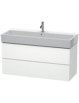 Duravit L-Cube 1184mm 2 Drawer Vanity Unit With Vero Air Basin