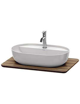 Duravit Luv 688 x 475mm 1 Cut-Out Real Wood Massive Console