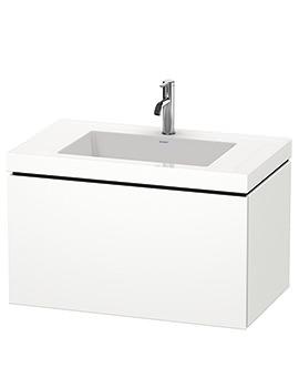 Duravit L-Cube 800mm 1 Drawer Vanity Unit With C-Bonded Basin