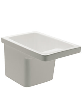 Roca Henares Vitreous China Laundry Sink - Width 390 x Projection 600mm