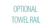 Optional Towel Rail