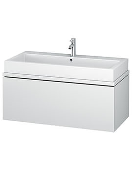 Duravit L-Cube 1020mm 1 Drawer Vanity Unit For Console