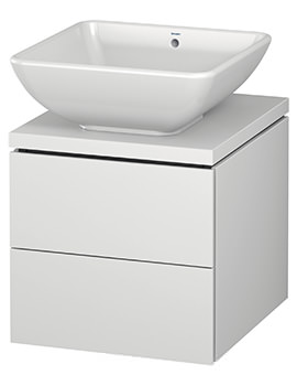 Duravit L-Cube 420mm 2 Drawer Vanity Unit For Console