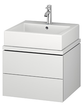 Duravit L-Cube 520mm 2 Drawer Vanity Unit For Console
