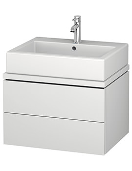 Duravit L-Cube 620mm 2 Drawer Vanity Unit For Console