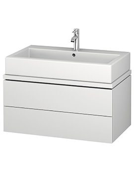 Duravit L-Cube 820mm 2 Drawer Vanity Unit For Console