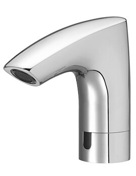 Roca M3-E Electronic Basin Mixer Tap With Single Water Supply - Battery Powered