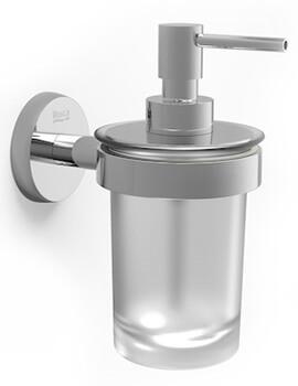 Roca Twin Wall Mounted Gel Dispenser - W 126 x D 78 x H 154mm